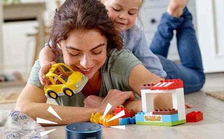 Amazon et Lego vont s'associer.