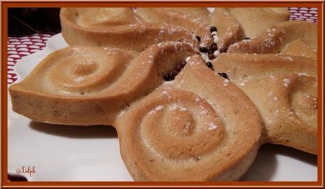 Gâteau aux blancs d'oeufs et Noix de coco