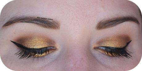 Gold Makeup {Soft Glam d'Anastasia Beverly Hills}