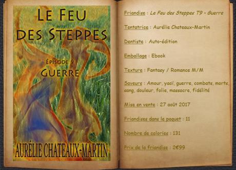 Le Feu de Steppes T9 - Guerre - Aurélie Chateaux-Martin