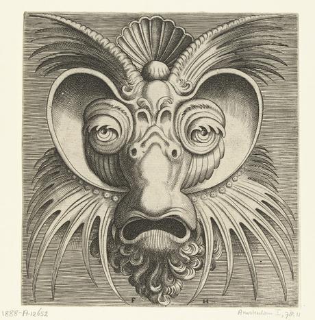 Cornelis Floris De Vriendt - Une grotesque mascarade