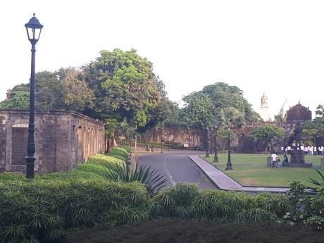 Le parc du Fort Santiago à Manille