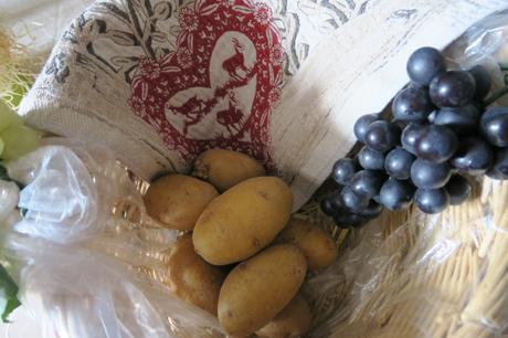 Pomme de terre: cuite, fameuse, crue toxique