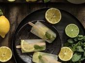 Glaces vert citron gingembre