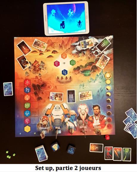 Rising 5, les Runes d'Asteros Chez Mandoo Games