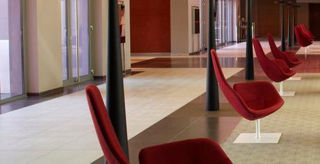 Radison Hotel Moroso Fjord Armchair designed by Patricia Urquiola