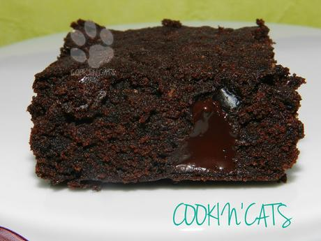 BROWNIES AUX PEPITES DE CHOCOLAT (sans gluten, vegan)