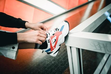 أحذية رخيصة مجموعة كاملة وصول جديدة nike m2k tekno bleu ...
