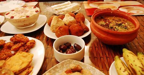 Plats de suhur, sahur, pour l'iftar, des recettes de la cuisine orientale du monde