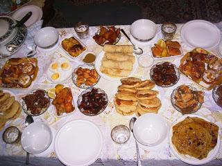 Recettes pour le menu les repas plats pour le Ramadan 2018 (1439) et de l'Aïd El Kebir