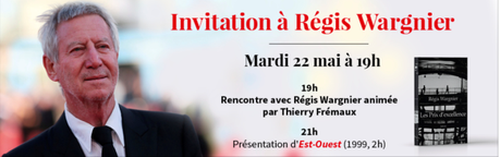 [Jeu Concours] Gagnez des places pour l'invitation à Régis Wargnier à l'Institut Lumière, en présence de Thierry Frémaux, le 22 mai 2018