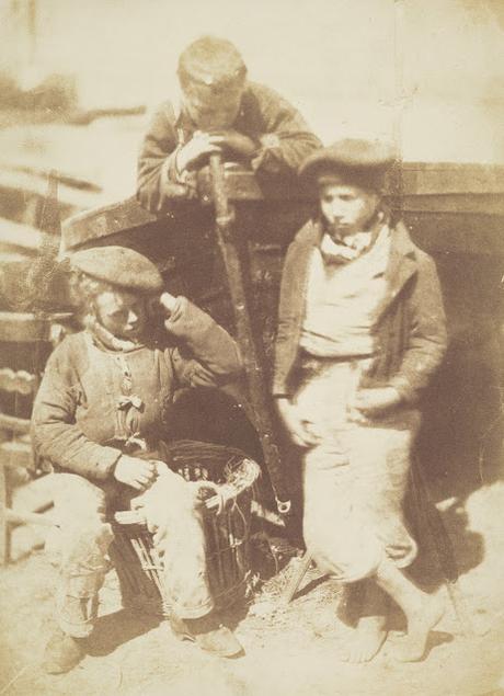 Hill & Adamson - Les pêcheurs de Newhaven et leurs familles