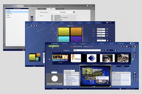 L'affichage dynamique totalement paramétrable avec VsBox et Visiosense