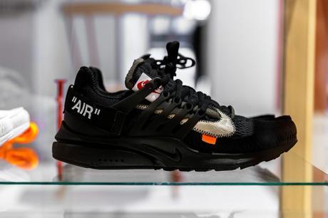 Virgil Abloh Nike Air Presto
