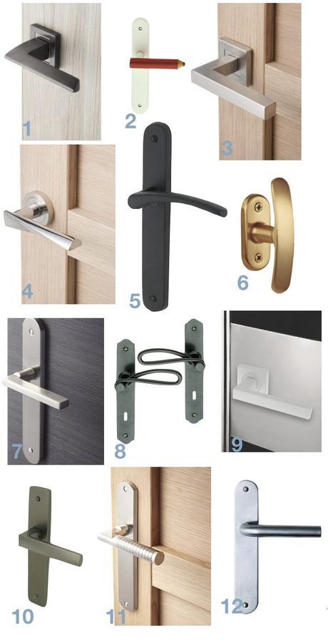 décorer une porte poignée design changer blog déco clem around the corner