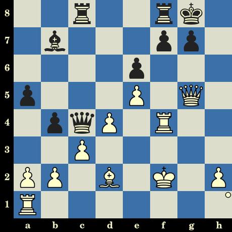 Quiz du jour sur les échecs : les Blancs jouent et matent en 4 coups