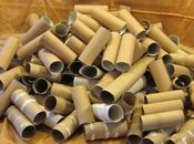 idées ingénieuses pour réutiliser rouleaux papier toilette