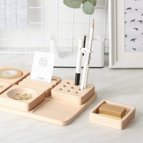 pana objects bois blog deco stationnery fourniture boite bureau rangement tofu