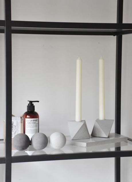 diy photophore beton hexagonale tutoriel blog deco diy