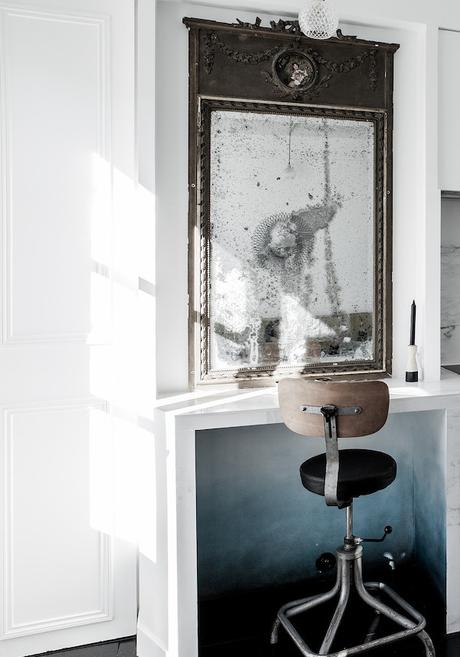 16m2 paris cuisine kitchen bureau optimiser impression espace