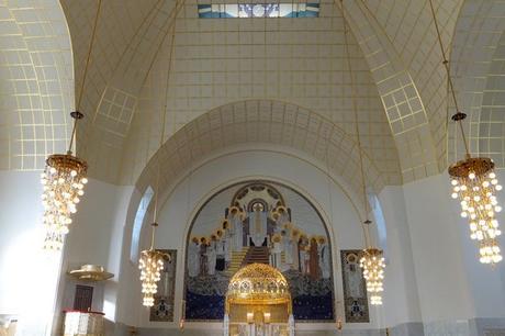 vienne art nouveau jugendstil sécession otto wagner église am steinhof
