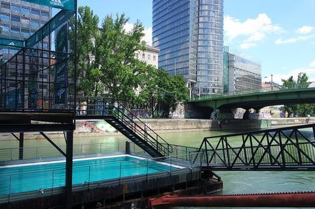 vienne canal danube donaukanal badeschiff piscine