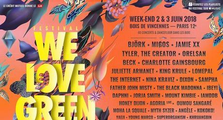[ FESTIVAL ] RDV À WE LOVE GREEN !