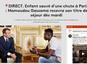 Mamoudou Gassama, cordée d'un #Macron hypocrite… #immigration