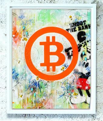 Bitcoin Art! 2018. JP Malot.