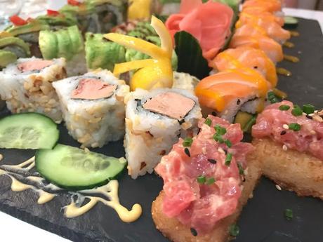 Dîner chez Bozen , une cuisine japonaise créative !