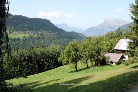 Haute-Savoie en famille #12 : randonnée aux chalets de Miage