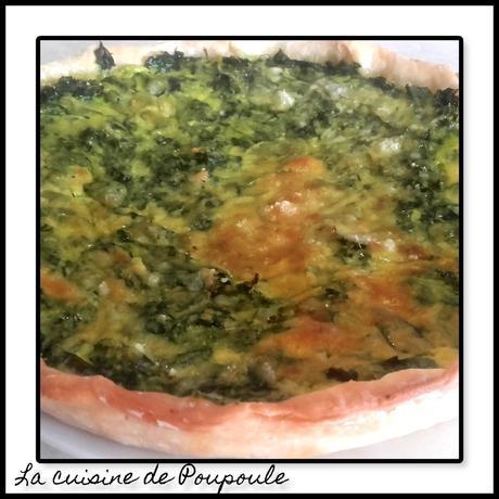 25 MAI 2018 Tarte aux blettes au curry au thermomix ou sans