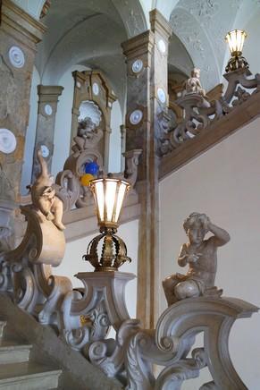 salzbourg city guide schloss château mirabell escalier