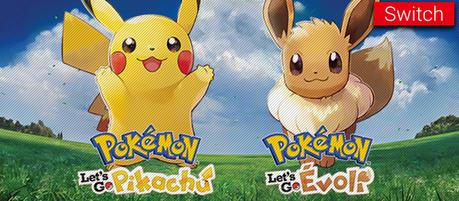 Pokémon Let's Go Pikachu et Evoli dévoilé !