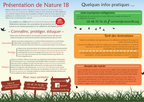 [Graphiste] Programme des sorties de Nature 18 [MaJ 2018]