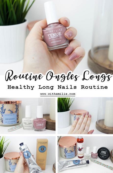 Des ongles longs et solides | Ma Routine soins et vernis