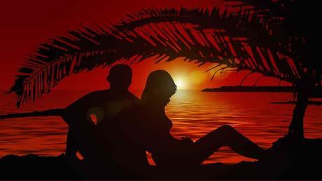 Homme et femme aux Antilles
