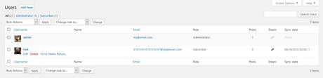 WP Steam Auth: Inscription & Connexion à WordPress via Steam