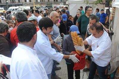 Manifestation des boulangers contre le prix de la farine [Actu]