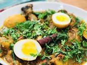 Kalia poulet spécialité épicée colorée menthe coriandre fraîche aller direct pour l'île Maurice