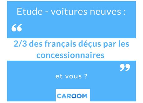 voiture neuve : 2/3 des français déçus par les concessionnaires