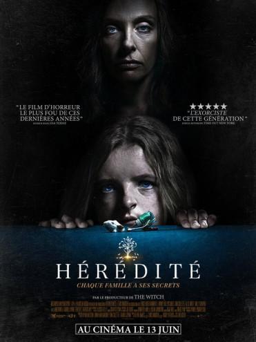 La bande annonce et l'affiche française de Hérédité