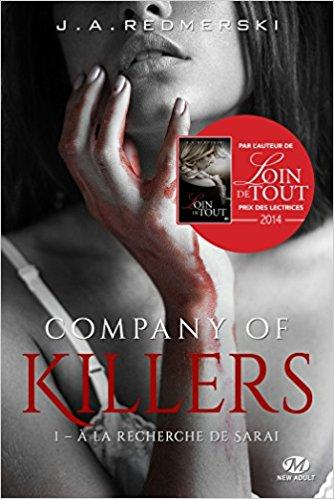 A vos agendas : Découvrez Compagny of Killers , la nouvelle saga de J.A Redmerski dès août