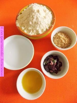 Soupe de Bourrache et Crackers aux algues (Vegan)