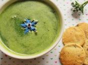 Soupe Bourrache Crackers algues (Vegan)