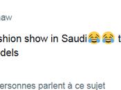 défilé mode sans modèles Riyad (Arabie Saoudite)