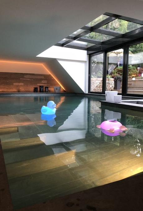 pool party enceinte qui flotte canard tortue blog deco clemaroundthecorner