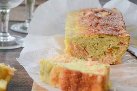 Cake au saumon et à l'aneth