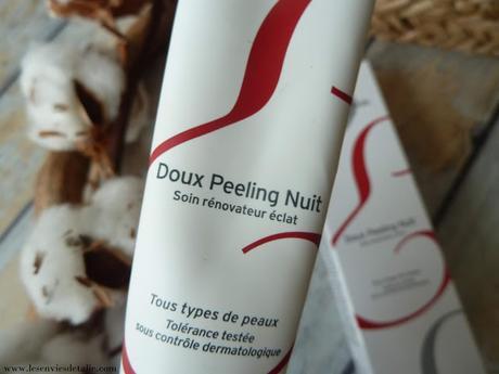 Une peau plus nette et éclatante avec le Doux Peeling Nuit - Embryolisse