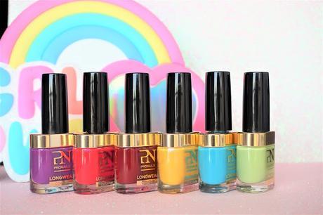six couleurs acidulées et estivales